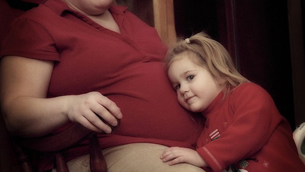 Беременность с лишним весом 2